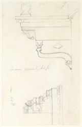 Drawing from a set of 16 architectural details in N. India made between 1786 and 1792 1807